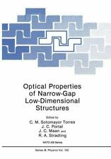 Optical Properties of Narrow-Gap Low-Dimensional Structures 152 by J. C....