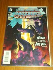 HE MAN MASTERS OF THE UNIVERSE #9 DC COMICS (FEBRUARY 2014) NM (9.4)