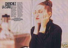 Coupure de presse Clipping 1988 Madonna  (4 pages)