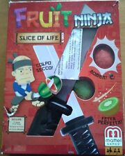 FRUIT NINJA slice of life 2011 MATTEL GAMES giocatori 2 anni 5+ non completo