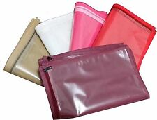 (20 PC )Oneside Clear Plastic Clothes Sari Saree Garment Storage , cover Bags