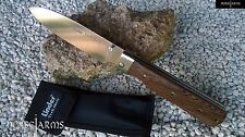 LINDER GERMAN TREK-MATE FOLDER KNIFE w/ WOOD HANDLE