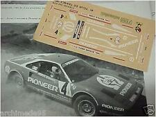 FERRARI 308 TOUR DE FRANCE 1982 DECALS 1/43