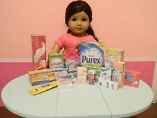 Made to Fit American Girl Doll Cleaning and Bathroom Supplies