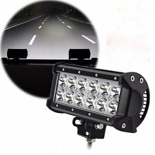 """1 X 7"""" inch 36W LED Work Light Bar Spot Offroad Fit For SUV ATV 4WD Jeep 12V ZL"""