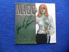 ~~ LINSNER ~ MAGIC CD LINER SIGNED!  ~ LAST ONE! ~~