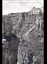 CONSTANTINE (ALGERIE) PONT Suspendu / PASSERELLE sur le RHUMMEL