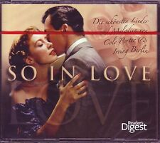 SO IN LOVE  -  READER'S DIGEST 3 CD Box NEU OVP