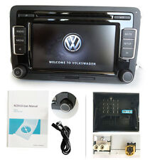 VW Autoradio RCD510 USB AUX 6CD MP3 Golf  POLO Touran EOS Passat  inglese IA1-2