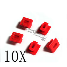 10x Dashboard Dash garniture Strip Inserts Clips Grommets pour BMW E46 E65 E85