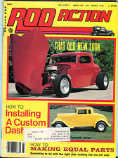 Rod Action Magazine March 1983 That Old New Look EX 020916jhe