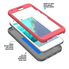 POETIC Shockproof TPU Case w/ Built-In Screen Protector for Google Pixel XL Pink