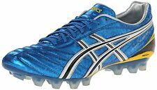 Asics LETHAL FLASH DS IT Mens Soccer Cleats Shoes sz 9 NEW BLUE BLACK WHITE
