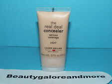 LAURA GELLER THE REAL DEAL CONCEALER SERIOUS COVERAGE LIGHT 0.70 OZ / 20 G NEW