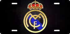 Airbrushed Aluminum Real Madrid new design license plate 3