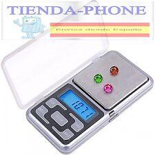 Balanza 0,01gr-500gr Bascula Digital de Precisión Gramera Báscula d222 ENVIO