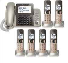 Panasonic KX-TGF356N Dect 6.0  Corded/Cordless Phone System w/6 Handsets