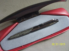 Sheaffer Intrigue Fountain Pen  Silken Bark with rare Left Oblique 14k nib