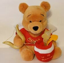 WALT DISNEY COMPANY PLUSH / STUFFED VALENTINE'S DAY ANGEL WINNIE THE POOH CHINA