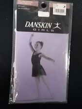 BNIP Danskin All Occasion Girl's 51 White Footed Tights Size Small (4-6)