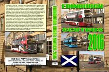 3271. Edinburgh. UK. Buses. March 2016. Lots of new bus deliveries since our pre