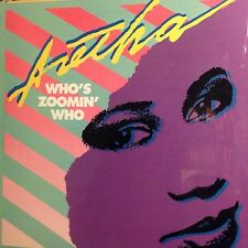 ARETHA FRANKLIN • Who's Zoomin Who • Vinile 12 Mix • 1985 ARISTA