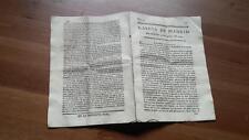 1793 Gazeta de Madrid Núm 33 del Martes 23 Abril Altona Torino Dima Vizcaya Vera