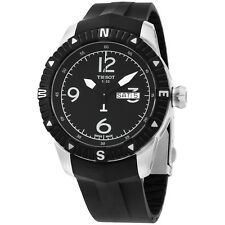 Tissot T0624301705700 T-Navigator Men's Black Rubber 44MM Automatic Analog Watch