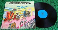LP 30cm *PINCHAS ZUKERMAN&CLAUDE BOWLING* Suite for Violin/jazz Piano CBS 73833