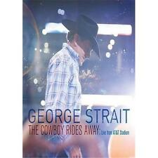 GEORGE STRAIT THE COWBOY RIDES AWAY DVD ALL REGIONS NTSC NEW