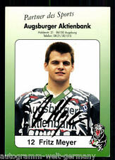Fritz Meyer Augsburg Panthers 1995/96 TOP AK +98561 + A 73365