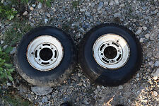 G1 BOTH WHEEL RIMS 22x8-10 ATV QUAD FREE SHIP YAMAHA KAWASAKI BAYOU HONDA