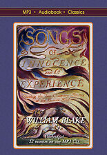 Songs of Innocence and of Experience - MP3 CD Audiobook in DVD Case