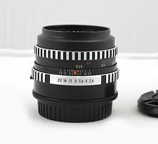 Carl Zeiss Jena Tessar 50mm f/2.8 Classic German Lens Adapted for Canon EOS EF