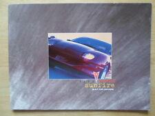 PONTIAC SUNFIRE orig 1999 large format sales brochure for Canada