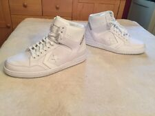 NEW Converse Weapon Mid Basketball Shoes White Silever 147472C Men's 11