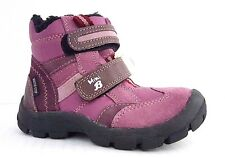New $100 MINIBATA Kids Boys Boots LEATHER Waterproof SIZE 8,5 USA/25 EURO/7,5 UK