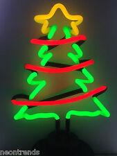 Weihnachtsbaum Neonleuchte @ Neon sign fir chrismas tree Neonreklame Weihnachten