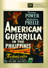 American Guerrilla In the Philippines 1950 (DVD) Tyrone Power, Micheline Presle