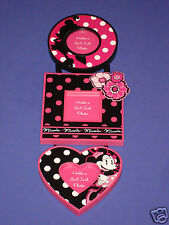 Disney Parks Picture Frame - Minnie Dot Frame Set