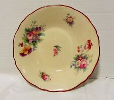 "Vintage Coalport Lady Sylvia China Berry Bowl 5 1/2"" LQQK!"