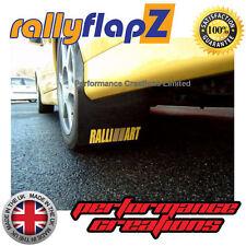 rallyflapZ MITSUBISHI EVOLUTION VIII Guardabarros Negros Ralliart Logo Amarillo