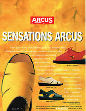 PUBLICITE ADVERTISING 025  1997  ARCUS  sandales  chaussures