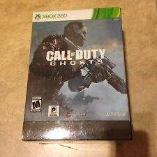 Call of Duty Ghosts Hardened Edition Xbox 360 Box Strap steel case NO Game Disc