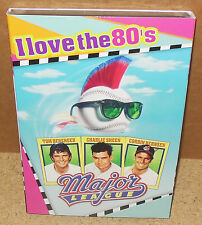"MAJOR LEAGUE ""I Love the 80's"" (DVD 2008) Widescreen SEALED w/SLIPCOVER"
