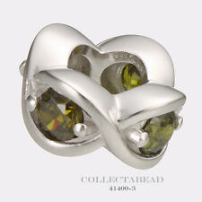 Authentic Endless Sterling Silver Peridot Heaven Bead 41400-3