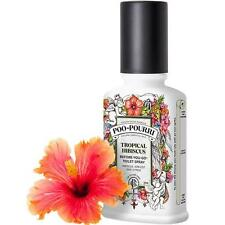 Poo-Pourri Before-You-Go Toilet Spray Stink-Free Poop TROPICAL HIBISCUS 4 oz