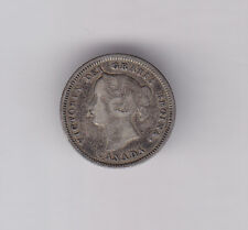 1883H Five Cents Silver - Nice presentable condition