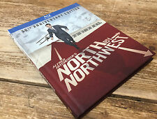 North by Northwest 50th Anniversary Edition Blu-ray DVD Book Packaging by Warner