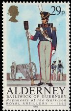 "ALDERNEY 25 (SG25) - Regiments ""Royal Artillery, 1855"" (pa9677)"